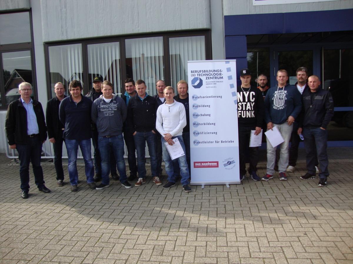 BTZ Papenburg und Schwarte Bau GmbH entwickeln Pilotprojekt
